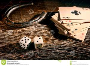 lucky-craps-dice-poker-cards-old-horseshoe-american-west-legend-antique-game-rolling-out-chance-number-seven-vintage-37741352