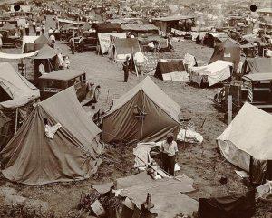 Washington Tent City 1932