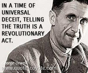 George-Orwell-truth-quotes