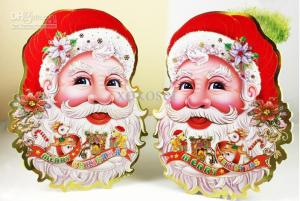 christmas-decorations-santa-christmas-posts