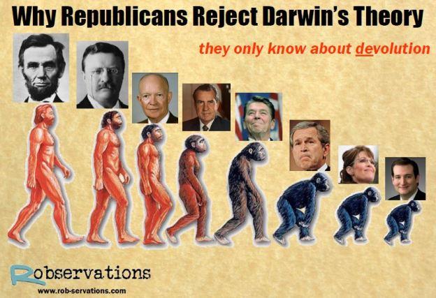 republican-darwinism