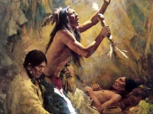 Howard-Terpning-Medicine-Man-Of-The-Cheyenne