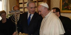 benjamin-netanyahu-pope-francis