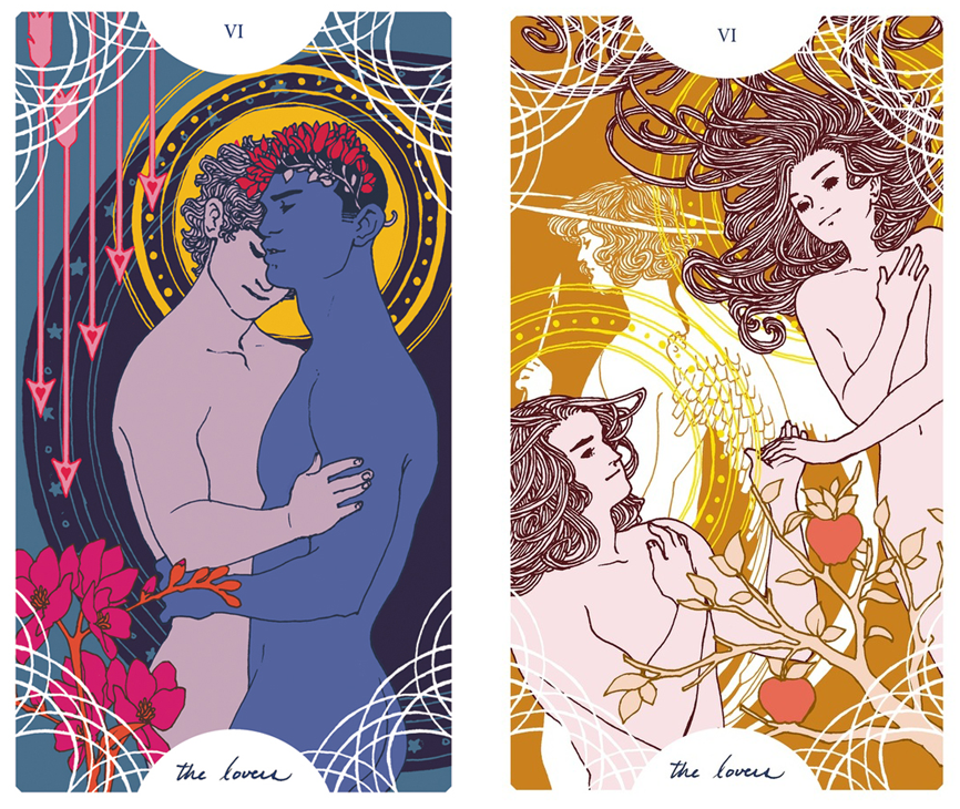 Trung-Nguyen-The-Lovers-Tarot-Cards